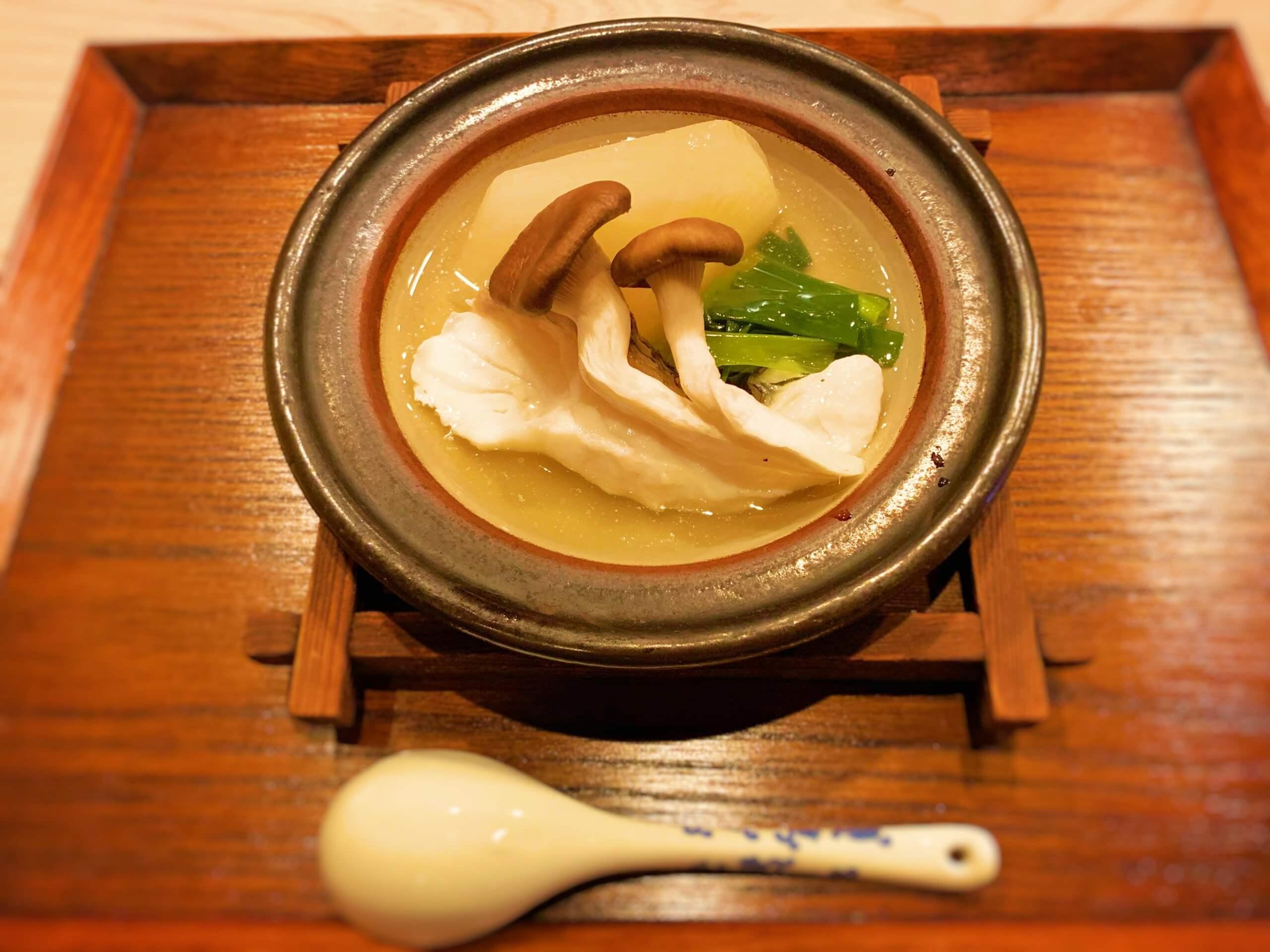 丸大根旨煮鍋 鯛 水菜